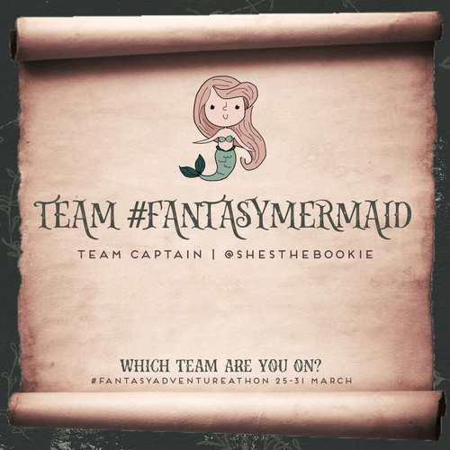#fantasyadventurethon TBR (team #fantasymermaid)