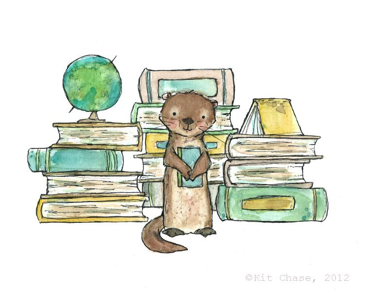 A new home for Elley the Book Otter!