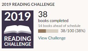 Goodreads challenge march progress