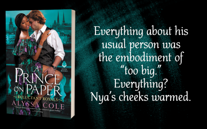 Teaser Graphic - A Prince on Paper by Alyssa Cole - 1